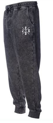JCSD - Men's/Unisex Mineral Wash Fleece Pants (J/C/S/D)