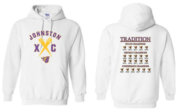 Johnston Cross Country Traditions - Unisex Hooded Pullover Sweatshirt