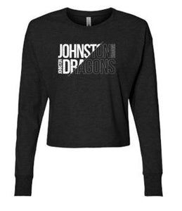JCSD - Ladies Long Sleeve Modest Crop (Slant Johnston Dragons)