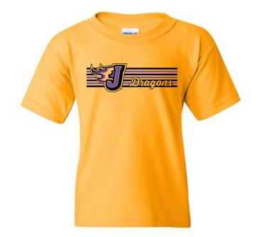 Fall PTO '20 - Youth 100% Cotton Tshirt (Stripe Design)