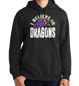 JCSD - I Believe in Dragons Pullover Hoodie (Mens/Unisex/Youth)