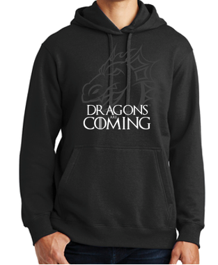 JCSD - Dragons are Coming Hooded Sweatshirt (Mens/Unisex)