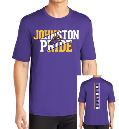 Spring PTO '20 - Youth/Adult Polyester Short Sleeve T'Shirt (Johnston Pride)