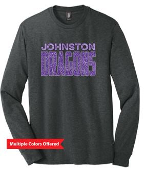 Fall PTO '20 - Adult Perfect Tri Long Sleeve Tshirt (Dragon Scales)
