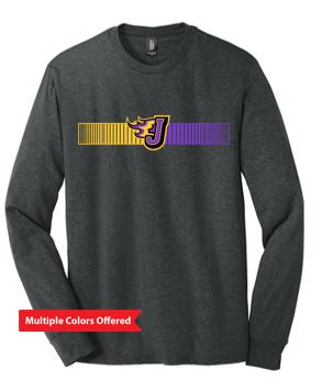 Fall PTO '20 - Adult Perfect Tri Long Sleeve Tshirt (Barcode)
