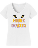 JCSD - Mother of Dragons V-Neck Tshirt in Various Colors (ladies)
