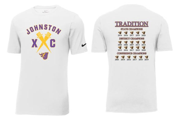 Johnston Cross Country Traditions - Unisex Nike Core Cotton T-Shirt