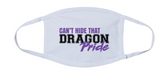 Fall PTO '20 - Adult 3-Ply 100% Cotton Mask (Dragon Pride)
