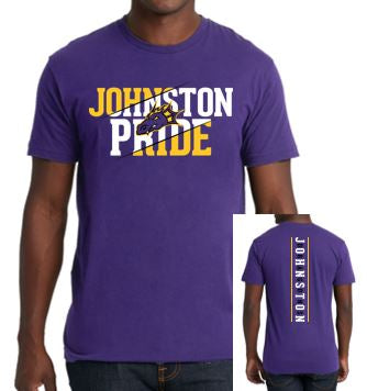 Spring PTO '20 - Youth/Adult 100% Cotton Short Sleeve T'Shirt (Johnston Pride)