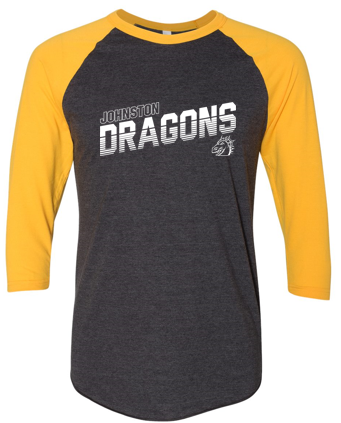 Spring PTO '20  - Adult Raglan Three-Quarter Sleeve Tee (Diagonal)