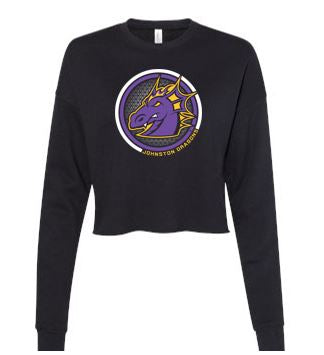 Spring PTO 2021 - Ladies Cropped Crew Fleece (Circle Design)
