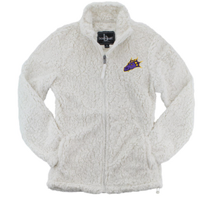JCSD - Dragon Head Ladies Full-Zip Sherpa Jacket in Multiple Colors