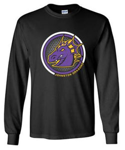 Spring PTO 2021 - Adult/Youth 100% Cotton Long Sleeve T-Shirt (Circle Design)