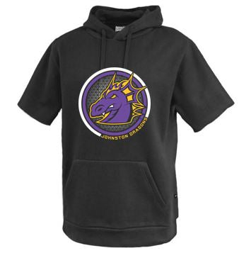 Spring PTO 2021 - Youth/Adult Short Sleeve Hoodie (Circle Design)