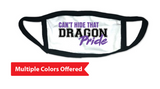 Fall PTO '20 - Youth 2-Ply 100% Cotton Mask (Dragon Pride)