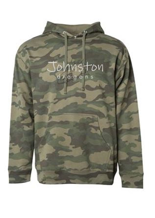 Spring PTO 2021 - Youth/Adult Camo Hooded Sweatshirt (Script Design)
