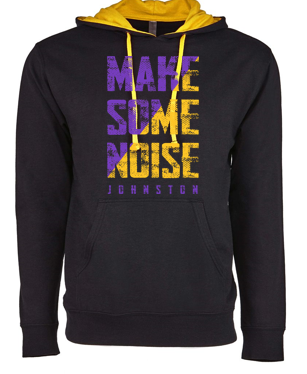 CLOSEOUT - Adult/Unisex French Terry Pullover Hoodie (Noise Design)