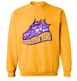 Johnston Band (Winter 2020) - Adult 50/50 Crewneck Sweatshirt in Multiple Colors (Head Design)