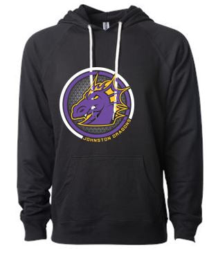 Spring PTO 2021 - Unisex Terry Hooded Sweatshirt (Circle Design)