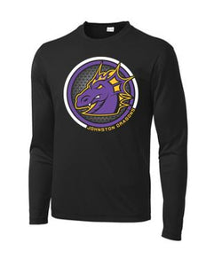 Spring PTO 2021 - Adult/Youth PosiCharge Competitor Long Sleeve T-Shirt (Circle Design)