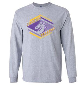 Spring PTO 2021 - Adult/Youth 100% Cotton Long Sleeve T-Shirt (Diamond Design)