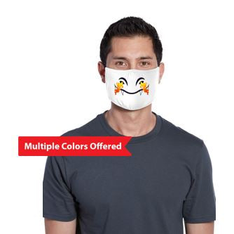 JCSD - 100% Cotton 3-Ply Fabric Face Mask (Dragon Mouth)