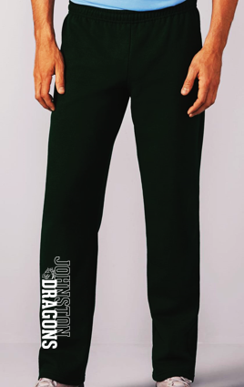 Winter PTO 19 - Youth/Adult Black Open Bottom Sweatpants (Pant)