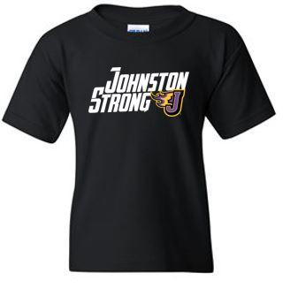 CLOSEOUT - Adult/Youth 100% Cotton T-shirt (Johnston Strong)