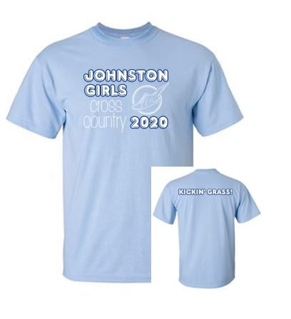 Johnston Cross Country '20 - Adult 100% Cotton T-shirt