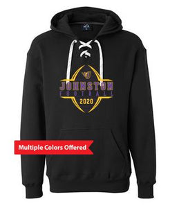 Johnston Football '20 - Unisex/Adult Sport Lace Hooded Sweatshirt (Football Design)