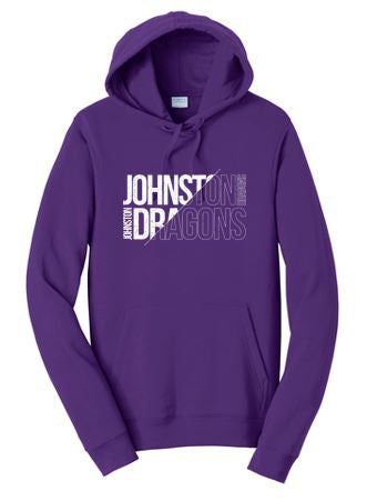 JCSD - Mens/Unisex Fan Favorite Pullover Sweatshirt in Multiple Colors (Slant Johnston Dragons)