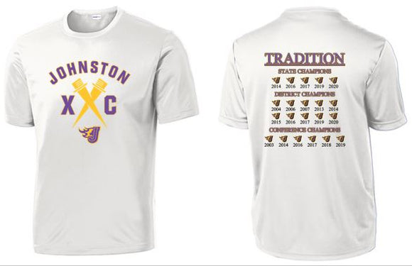 Johnston Cross Country Traditions - Unisex PosiCharge Competitor T-Shirt