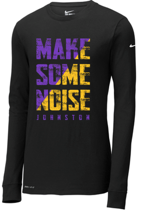 CLOSEOUT - Adult/Unisex Nike Long Sleeve Tshirt (NoiseDesign)