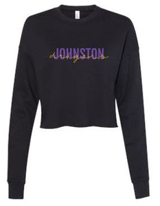 Spring PTO 2021 - Ladies Cropped Crew Fleece (Dragons Script)