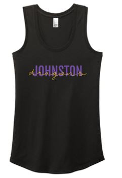 Spring PTO 2021 - Ladies Perfect Tri Racerback Tank Top (Dragons Script)