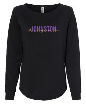 Spring PTO 2021 - Women's California Wave Wash Crewneck Sweatshirt (Dragons Script)