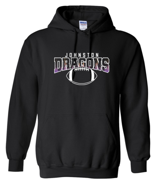 CLOSEOUT - Adult Hooded Sweatshirt (Football)