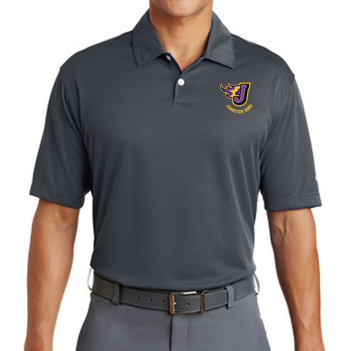Johnston Band (Winter 2020) - Adult Nike Dri-Fit Polo (Multiple Colors) (Embroidery Design)