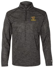 Johnston Football '20 - Adult Quarter-Zip Pullover (Flying J)