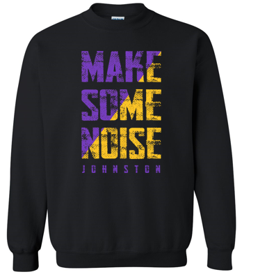 Fall PTO - Youth/Adult Crewneck Sweatshirt (Noise Design)
