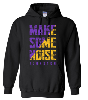 CLOSEOUT - Youth/Adult Hooded Sweatshirt in Multiple Colors (Noise Design)