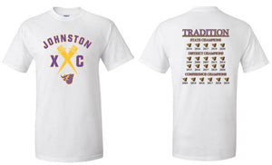 Johnston Cross Country Traditions - Unisex 100% Cotton T-Shirt