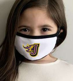 JCSD - Kids 100% Cotton 2-Ply Fabric Face Mask (Fire J)