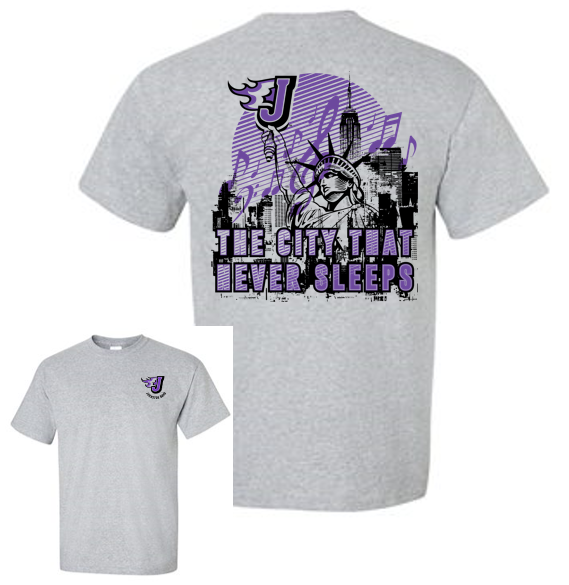 Johnston Band- Adult T'Shirt (City Design)