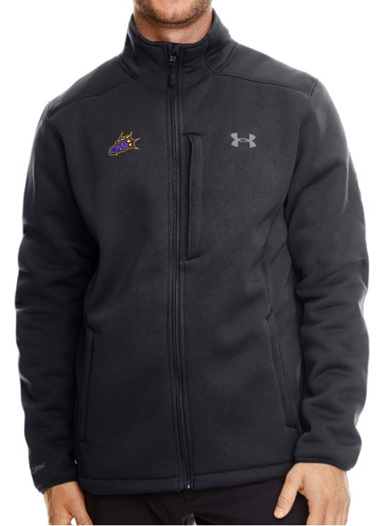 JCSD - Dragon Head Embroidery Under Armour Men's UA Extreme Coldgear Jacket