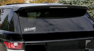 CLOSEOUT - Window Decal (Johnston Dragons)