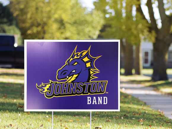 Johnston Band - Yard Sign