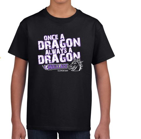 CLOSEOUT - Wallace Once A Dragon T-Shirt (Youth & Adult)