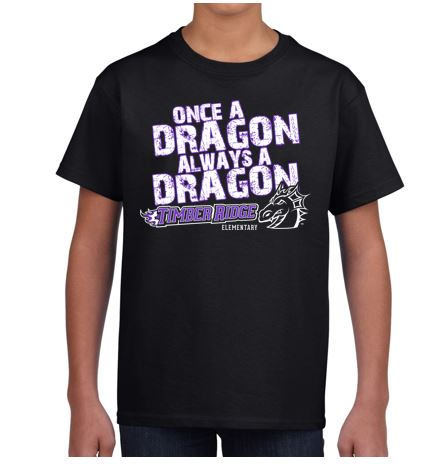 CLOSEOUT - Timber Ridge Once A Dragon T-Shirt (Youth & Adult)