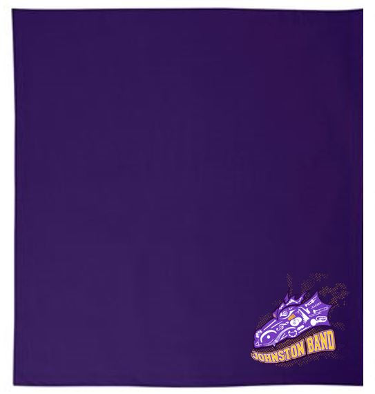 Johnston Band - Fleece Stadium Blanket
